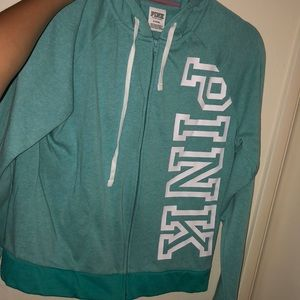 Turquoise jacket from PINK.
